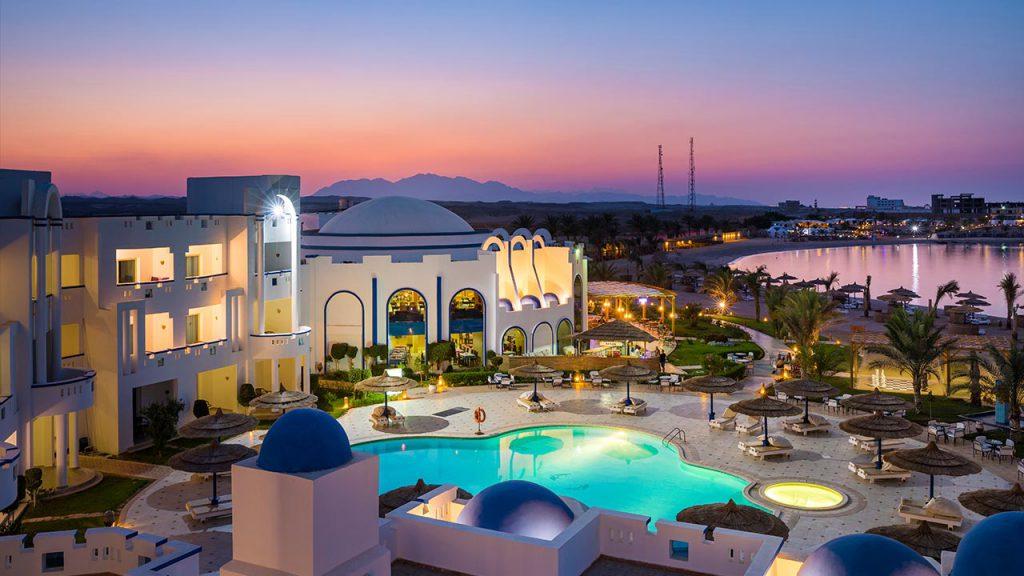 Hotel Aussenansicht, Coral Sun Beach
