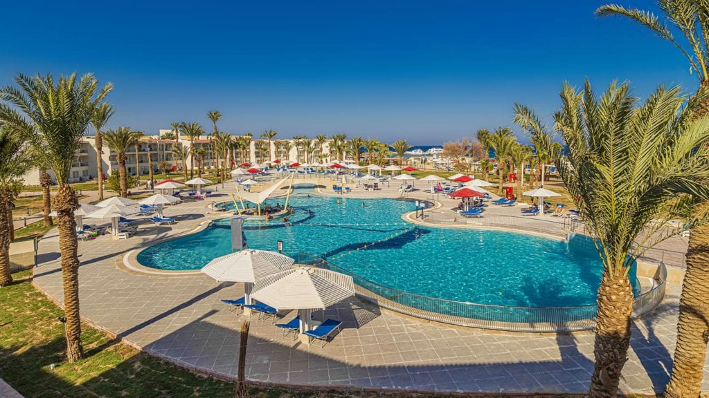 Amarina Abu Soma Resort Pools